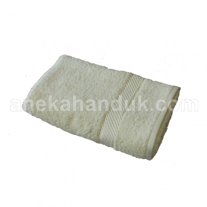 Handuk Chalmer Polos uk.34x80 (HHC Off white/cream)